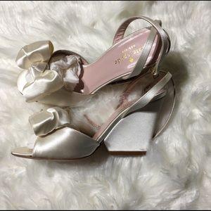 72c4bca746f4 kate spade Shoes - 25% Off NWOT Kate Spade Ivory Iberis Wedding Heels